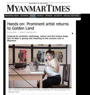 Hands on: Prominent artist returns to Golden Land