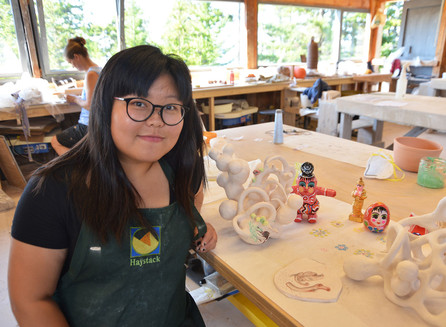 Soe Yu Nwe, 2017 Artaxis Fellow, at Haystack Mountain School of Crafts