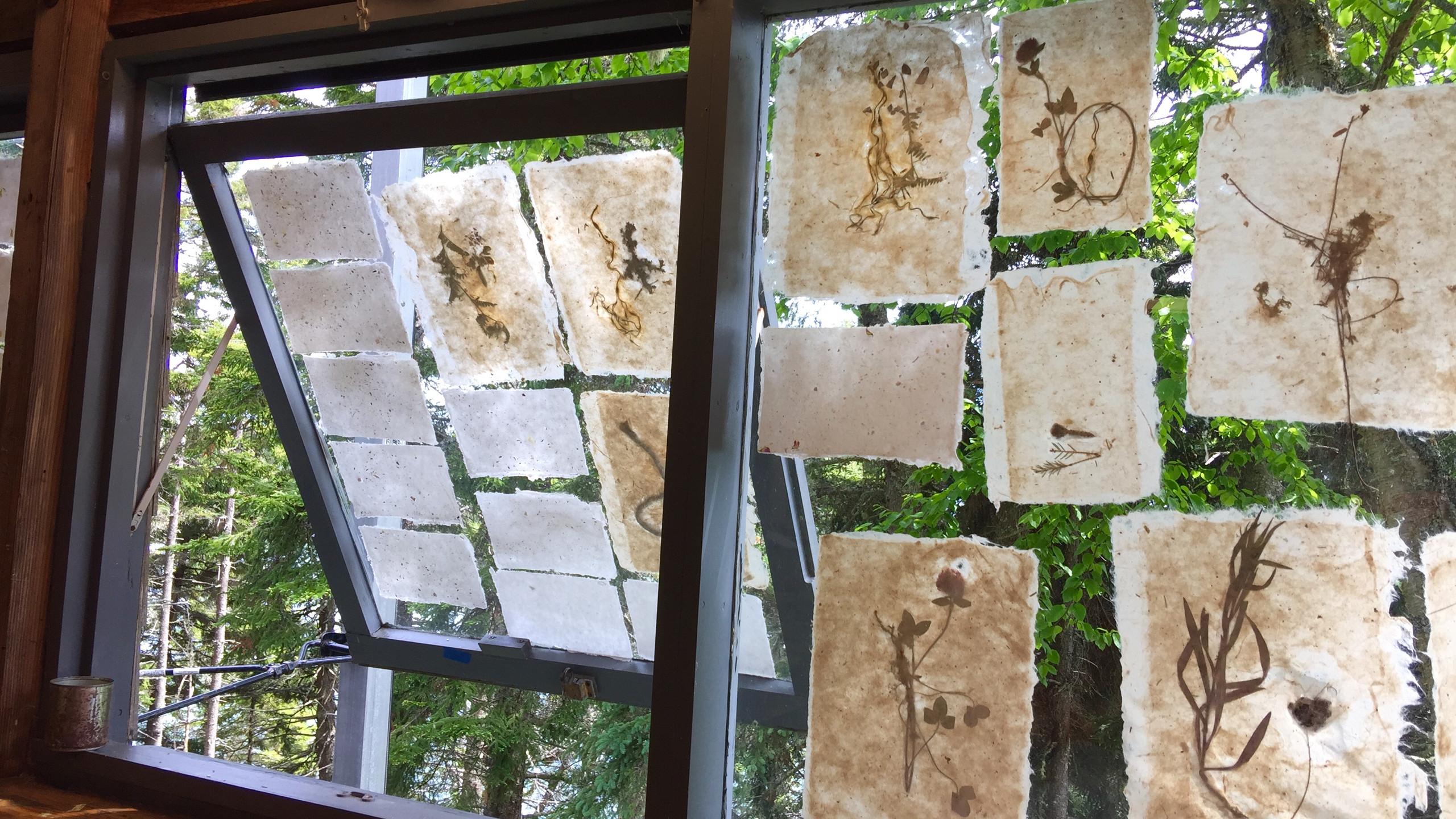 Kozo paper lamination