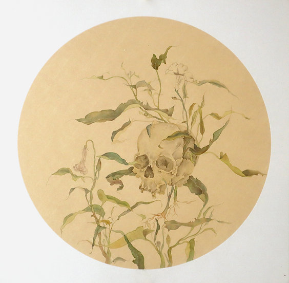 Le Hoang Bich Phuong | Silk Painting Commission