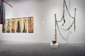 Bearing Points Exhibition at Dhaka Art Summit