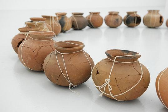 Amy Lee Sanford | Full Circle | Individual Pots Sculptures