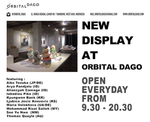 Collection of Orbital Dago (Bazaar Art Jakarta 2016)  and Ceramics from The 4th Jakarta Contemporary