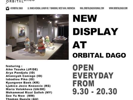 Collection of Orbital Dago (Bazaar Art Jakarta 2016)  and Ceramics from The 4th Jakarta Contemporary