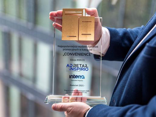 Nagrody AdRetail Inspirio: Znamy najpopularniejszych wydawców gazetek i katalogów z promocjami