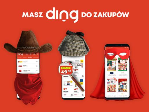 Kampania reklamowa serwisu Ding!