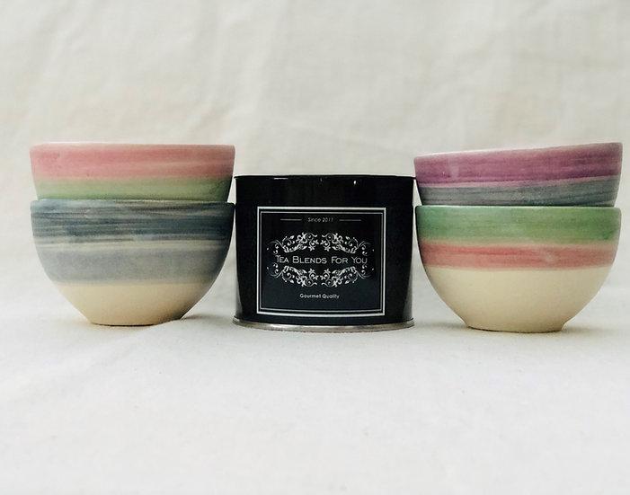 Cuencos en cerámica artesanal