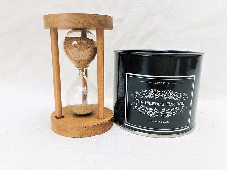 Reloj de arena de madera 3 minutos