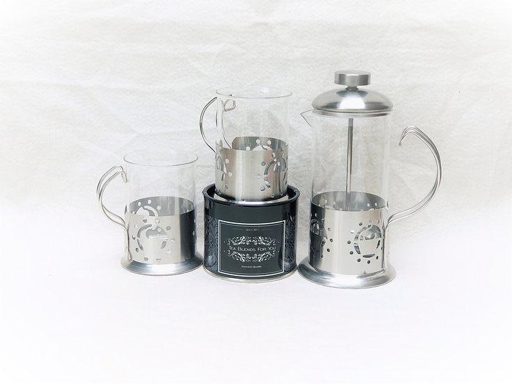 Set Tetera/Cafetera con tazas