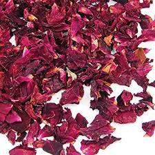 Petalos de pimpollos de rosas