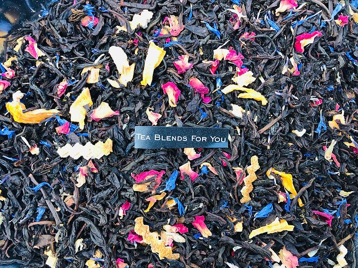 Té Negro Ceylon  Peach Flowers