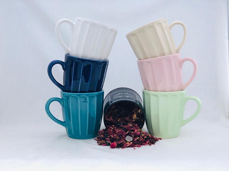 Mug Vainilla ceramica artesanal