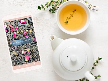 Cómo hacer un blend de té?