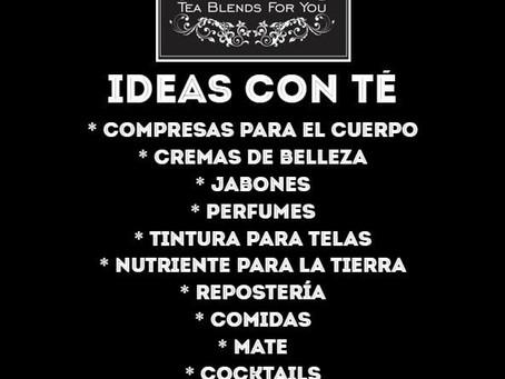 Ideas con Té