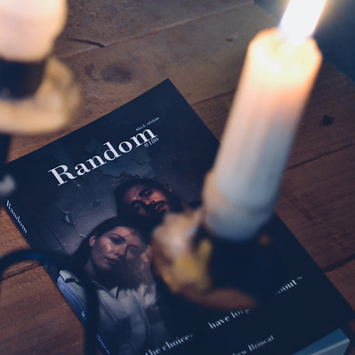 Random #180 - The Black Edition (AVAILABLE THROUGH AMAZON.CO.UK ONLY)