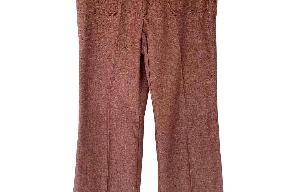Pantalon marron 70's - Taille 42