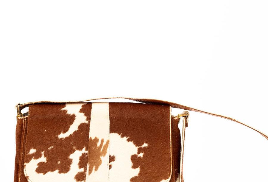 Sac à main Vache 70s