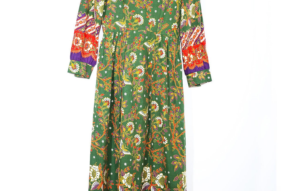 Robe longue Hippie made in USA - Taille XS