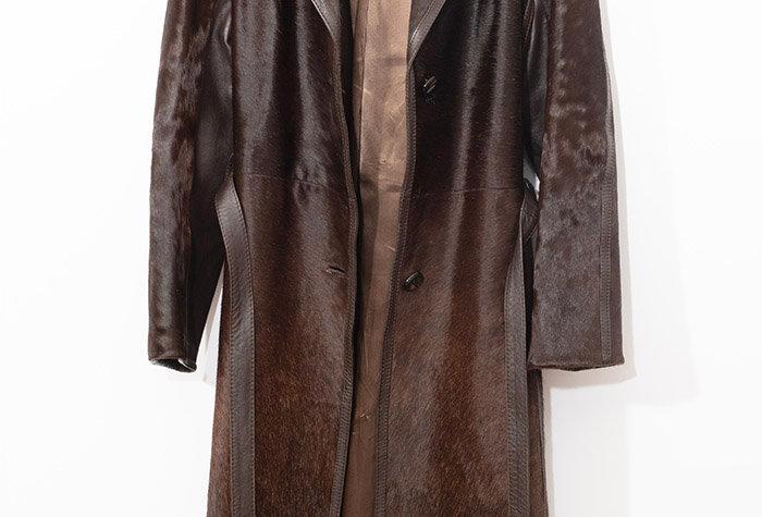 Manteau en Poulain Années 70 - Taille M