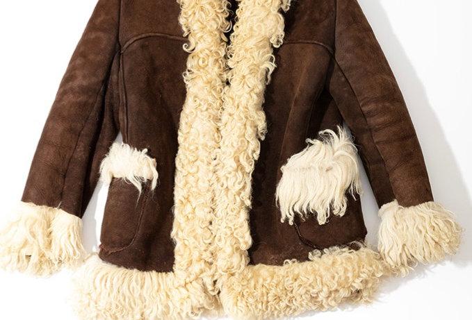 Manteau en Shearling de Yack - Taille XS/S