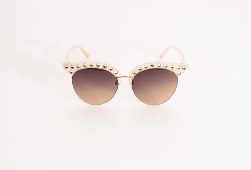 Lunettes Cat Eye Strass