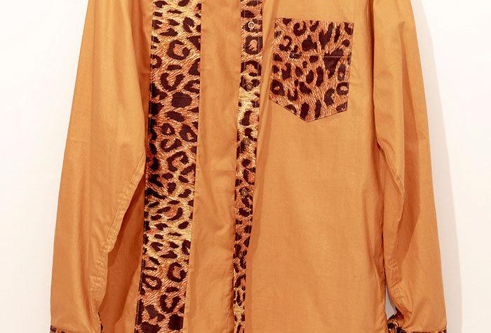 Chemise Léopard en soie - Taille XL