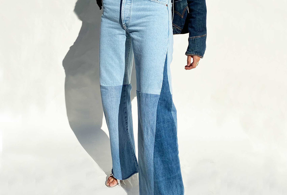 Transformation ✨ - Votre jean devient un Birkin ♻️