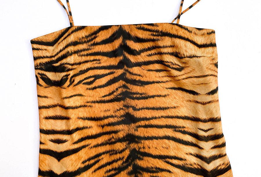 Top Tigre Bretelles 90's - Taille 40