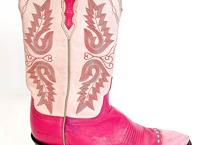 Santiags Roses Made in Texas - Taille 40