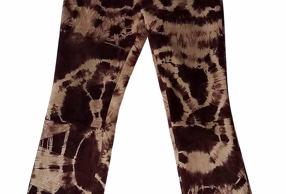 Pantalon en daim Tie-Dye - Taille 36/38