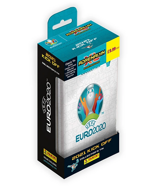 Classic Tin - Panini UEFA Euro 2021 KickOff Adrenalyn XL