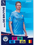 Panini Adrenalyn XL Premier League 2020/21 Kevin De Bruyne Base Card