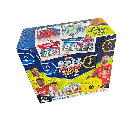 36 x Packs - Topps Match Attax Extra 2020/21