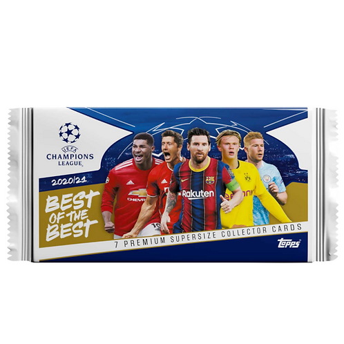 1 x Pack - Topps Best of the Best 2020/21