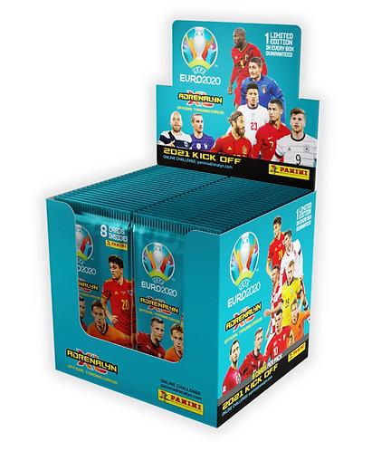 50 Packs - Panini UEFA Euro 2021 KickOff Adrenalyn XL