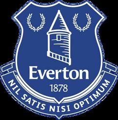 Everton Football Cards Club Badge