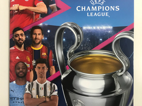 Checklist and first look at the Topps UEFA Champions League 2020/21 Sticker collection