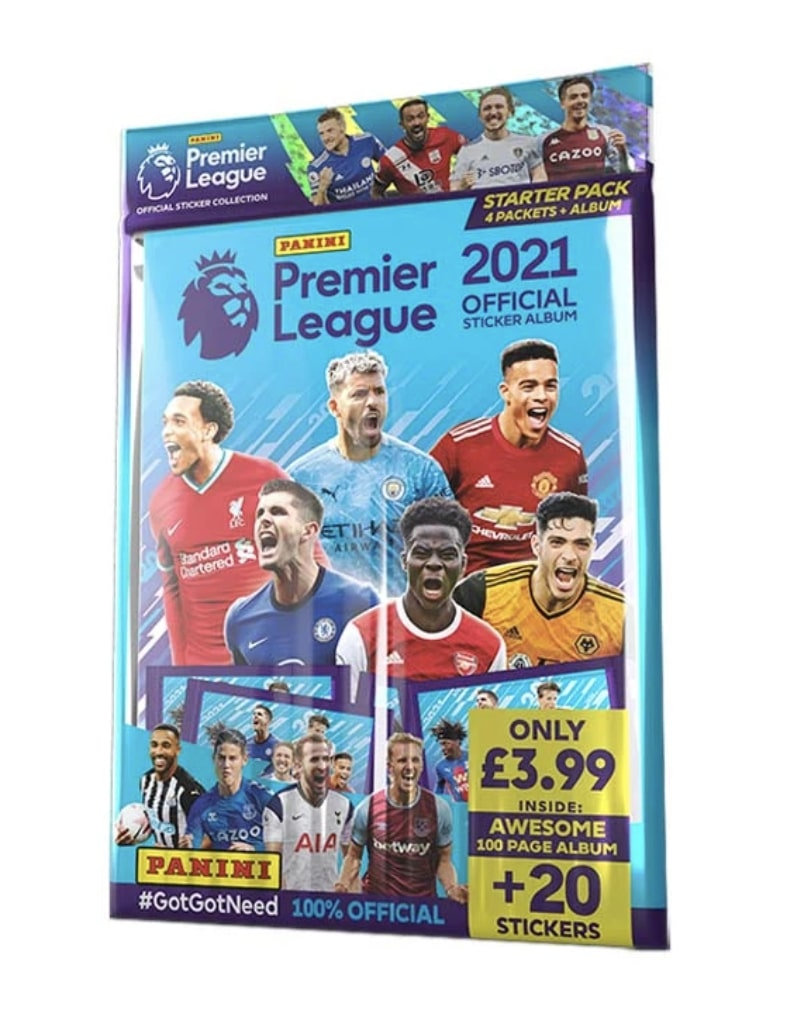 Starter Pack Panini Premier League 2021 Stickers Solve Collectibles