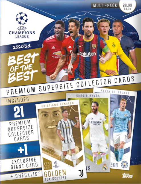 Multipack - Topps UCL Best of the Best 2020/21