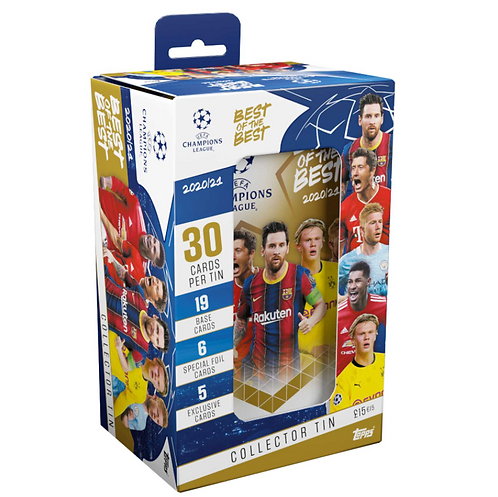 Mega Collector Tin - Topps UCL Best of the Best 2020/21