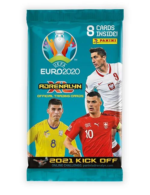 1 Pack - Panini UEFA Euro 2021 KickOff Adrenalyn XL