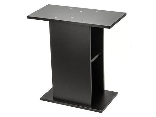 Leddy 60 functional black cabinet. Size 61x31x72.5cm