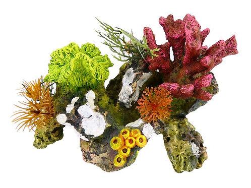 CORAL ROCKS/PLANT 170MM