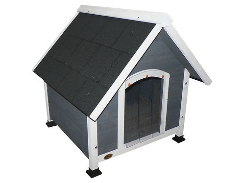 CHEEKO APEX KENNEL GREY LARGE 83X101X85