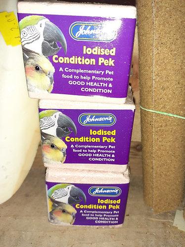 Lodised condition peks block 1pcs