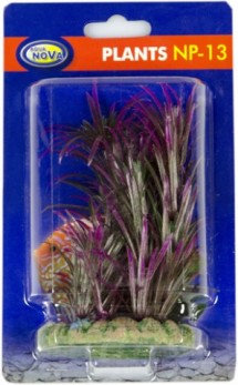 13cm plastic plant red type