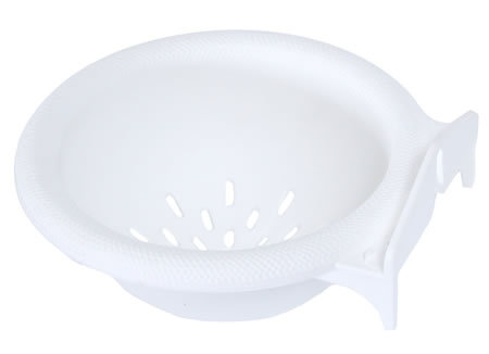 HATCHWELL CANARY NEST PAN WHITE