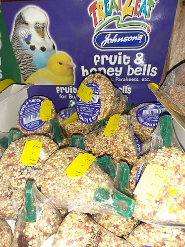 budgie Fruity honey bells x1