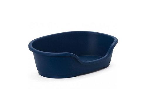 PLASTIC DOMUS BED 60CM BERRY BLUE (H260)