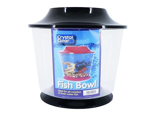 LARGE FISH BOWL BASE & LID